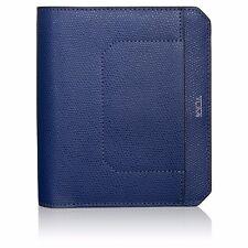 """NEW Tumi CAMDEN 11882IND INDIGO BLUE Passport Case 5.75""""x4.5"""" Cover Holder"""