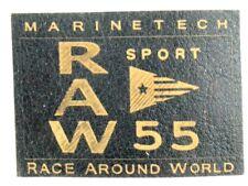 Kunstleder Applikation zum Aufbügeln Bügelbild 3-859 Raw 55