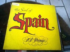 """LP 12"""" THE SOUL OF SPAIN 102 STRINGS TEXTURED COVER SOMERSET COVER EX VINYL EX+"""