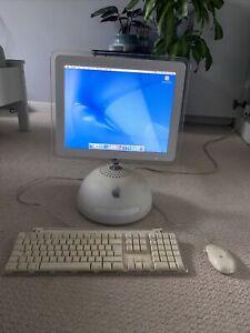 APPLE iMac Vintage Retro Desktop Computer G4 128MB 2002