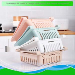 Küche Kühlschrank Korb Lagerregal Aufbewahrungsbox Regalhalter Organizer