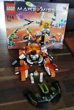 Lego Mars Mission 7697 MT-51 Claw-Tank Ambush  - Complete