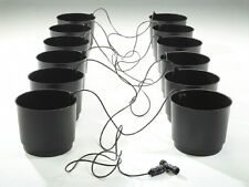 Eco Growing System Complete 12 Pack Bundle - hydroponics 5 gallon pots wick