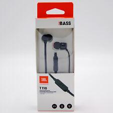 JBL Kopfhörer Schwarz In-Ear  Headset Mikrofon Pure Bass Sound NEU OVP