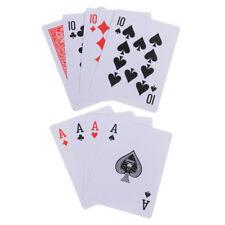 4 Cards Transformer magic tricks 10 to A card magic props 10 change magic ^P