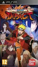 Naruto Shippuden: Ultimate Ninja Impact (PSP), Good Sony PSP,Sony PSP Video Game