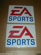EA Sports New Nascar gaming PAIR racing decal Stickers Electronic Arts rare