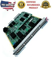 CISCO WS-X6748-GE-TX INTERFACE MODULE FULLY MANAGED SWITCH- 48 PORTS CISCO