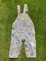 Vintage Vestbak 18 Months Oshkosh B Gosh Overalls Chuckie Good Guy Doll Animals