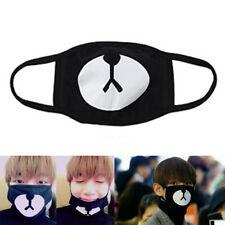 Fashion Korean Unisex Black Lucky Bear Mouth Face Mask Outdoor Mask Respirator