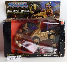 MOTU, Jitsu & Night Stalker, Masters of the Universe, MISB, sealed box, He-Man