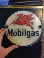 Mobil Gas Oil Sign Vintage Style Advertisement 9+inch Metal Plaque Sinclair GIFT