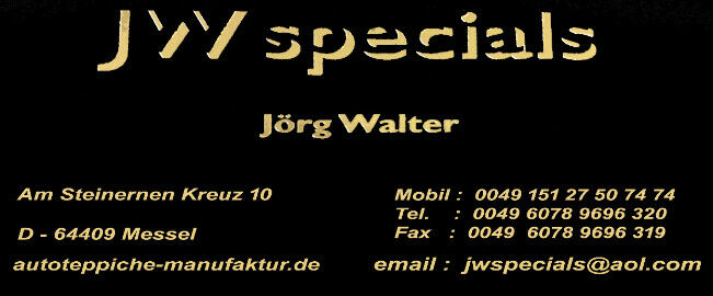 JW SPECIALS