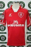 maglia calcio PERUGIA MATERAZZI TG M 99/00 shirt maillot camiseta trikot jersey