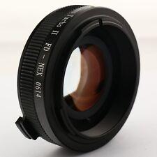 Zhongyi Focal Reducer Lens Turbo II Booster Canon FD für Sony E Adapter NEX-5T 7