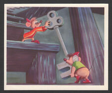 Walt Disney Cinderella Vintage Animation Card Belgium #10 Friendship Cooperation