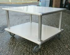 More details for used heavy duty 2 tier shelf tray industrial medical? truck trolley