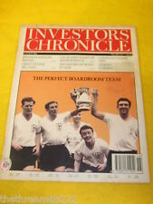 INVESTORS CHRONICLE - TOTTENHAM HOTSPUR COVER - MAY 6 1994