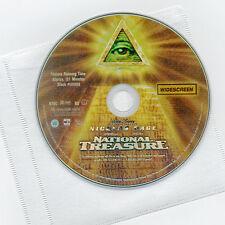 Walt Disney National Treasure PG movie, DVD & sleeve Nicolas Cage, Harvey Keitel