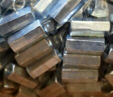 "CP2520875P Coupling Nut 1/4""-20 x .88 Zinc Plated, Lot of 50 - NEW"