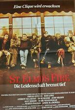 [K3] ST.ELMO´S FIRE EINE CLIQUE WIRD ERWACHSEN ORIGINAL FILMPLAKAT ALLY SHEEDY