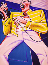 FREDDIE MERCURY PRINT poster queen made in heaven cd japan night at the opera lp