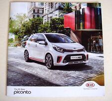 Kia . Picanto . The All New Kia Picanto . April 2017 Sales Brochure
