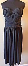 Joseph Ribkoff Strapless Little Black Cocktail Dress size S 4 6 NWT $355 DS5