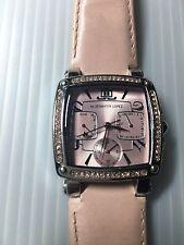 Jennifer Lopez JLO Stainless Steel Watch Chronograph Stainless Steel Quartz
