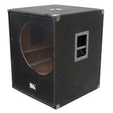 "Seismic Audio NEW EMPTY 18"" SUBWOOFER PA DJ PRO Audio Band Speaker"
