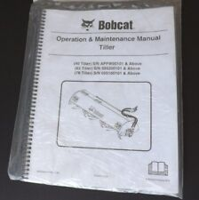Bobcat Tiller Operation & Maintenance Manual, 6902943enUS (10-15) (N)