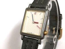 Reloj pulsera cadete SEIKO QUARTZ 2P20-5F4A RO Original Vintage