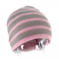 Chapeaux grises en acrylique pour fille de 2 à 16 ans