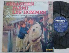 SEBASTIEN PARMI LES HOMMES (LP 33T) FEUILLETON TV ORTF CECILE AUBRY