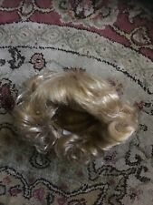 SD 1/3 BJD Blonde Curly Wig