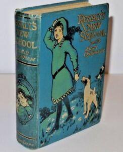 * Rare * Elsie Oxenham Rosaly's New School 1st Edition 1913