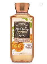 Bath & Body Works MARSHMALLOW PUMPKIN LATTE Shea + Vitamin E Shower Gel~10 fl.oz