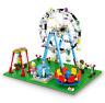 Sembo Blocksteine Riesenrad Freizeitpark Figur Spielzeug Modell Geschenk 447PCS