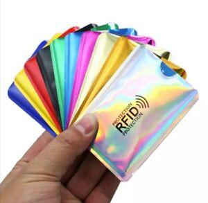 RFID Karten Schutzhülle NFC Blocker Kreditkarte EC Karte Abschirmung Datenschutz