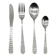 Stainless Steel Cutlery Sets 16/ 24/ 32 piece Set Double Hive Design Fork Spoon