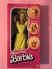 BARBIE MAGIC CURL NRFB 1981