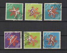 Jeux Olympiques Equateur 1967 6 timbres / T1661