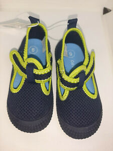 Toddler Boys' Oscar Water Shoes Cat & Jack Navy Blue Size 6 NWT