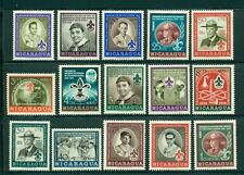 Nicaragua Scott #778//C386 MNH Boy Scouts Baden-Powell Birth Centenary $$