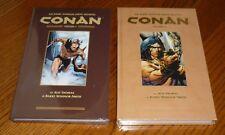 Conan Archives Volume 1 + 2 SEALED Barry Windsor-Smith, Marvel, Dark Horse, HC