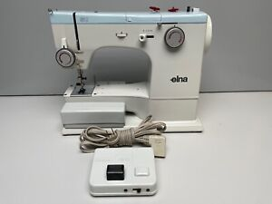 Elna SU Type 62C Sewing Machine with Foot Controller + Lots of Cams