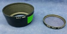 Hoya skylight filter 1A 49mm thread with BDB Lens Hood