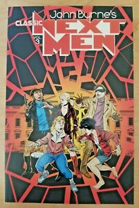 John Byrne's Classic Next Men Volume #3 (IDW trade paperback) TPB graphic novel