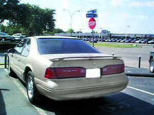 UNPAINTED FORD THUNDERBIRD FACTORY STYLE SPOILER 1987-1998 (1639)