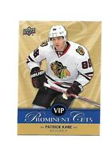 2017 Upper Deck National VIP Patrick Kane Prominent Cuts Card #VIP-5